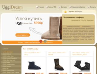 uggidream.ru screenshot