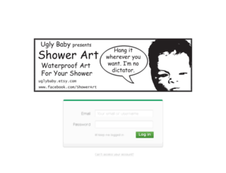 uglybaby.createsend.com screenshot