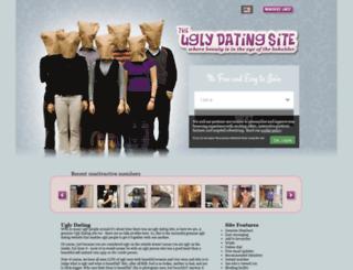 uglydatingsite.com screenshot