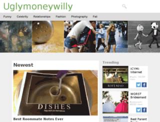 uglymoneywilly.com screenshot