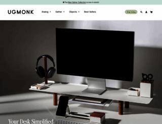 ugmonk.com screenshot