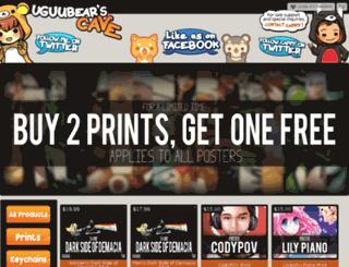 uguubearscave.storenvy.com screenshot