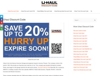 uhauldiscountcode.com screenshot