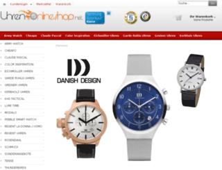 uhren-onlineshop.net screenshot