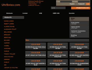 uhrswiss.com screenshot