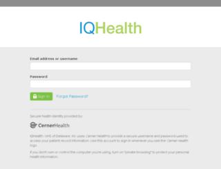 uhs-pa-west.iqhealth.com screenshot