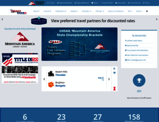 uhsaa.org screenshot