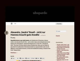 uhupardo.wordpress.com screenshot