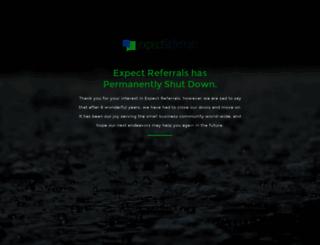ui.expectreferrals.com screenshot