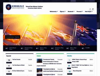 ui.kku.edu.tr screenshot