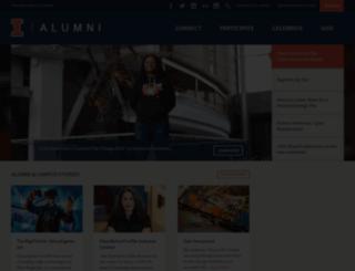 uialumniassociation.org screenshot