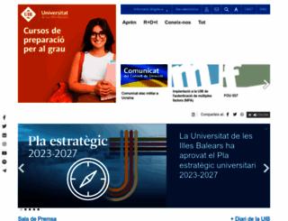 uib.es screenshot