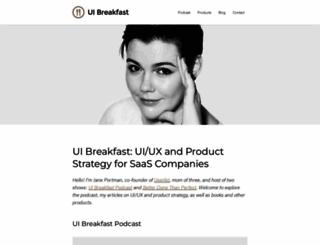 uibreakfast.com screenshot