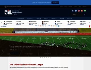 uiltexas.org screenshot