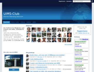 uimsclub.ning.com screenshot