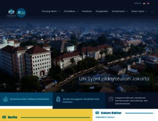 uinjkt.ac.id screenshot