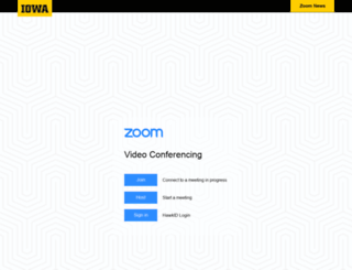 uiowa.zoom.us screenshot