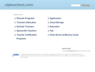 uipteachers.com screenshot