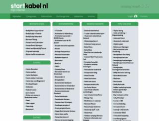 uitgaan.startkabel.nl screenshot