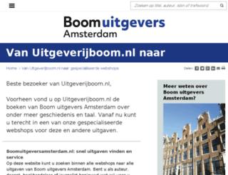 uitgeverijboom.nl screenshot
