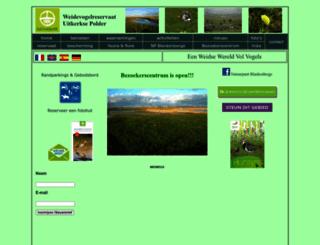 uitkerkse-polder.be screenshot