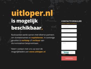 uitloper.nl screenshot