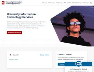 uits.iu.edu screenshot