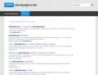 uitzendbureau.startpagina.be screenshot