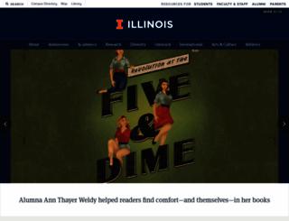 uiuc.edu screenshot