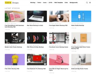 uiuxdesigns.com screenshot