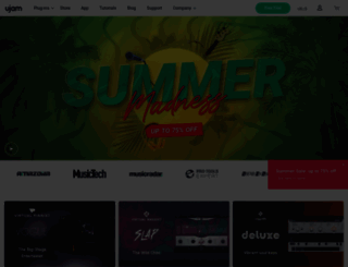 ujam.com screenshot