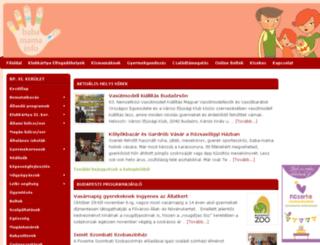 ujbuda.babamama.info screenshot