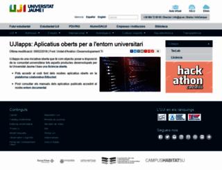 ujiapps.uji.es screenshot