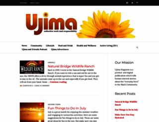 ujimamagazine.com screenshot