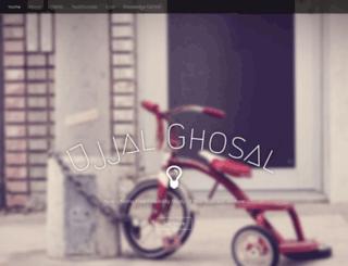 ujjalghosal.com screenshot