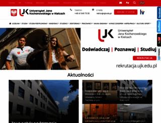 ujk.edu.pl screenshot