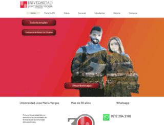 ujmv.edu screenshot
