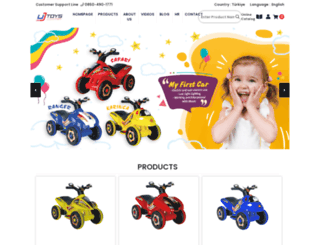 ujtoys.com screenshot