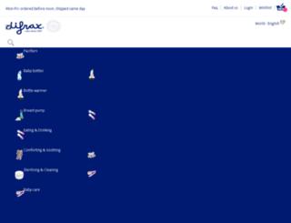 uk-en.difrax.com screenshot