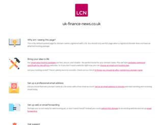uk-finance-news.co.uk screenshot