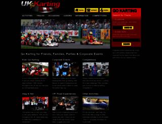 uk-go-karting.com screenshot
