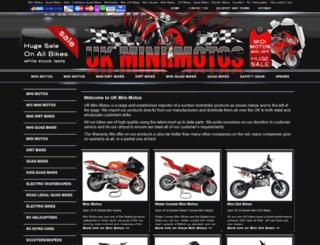 uk-mini-motos.co.uk screenshot