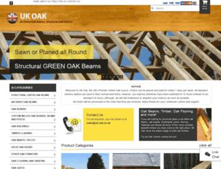 uk-oak.co.uk screenshot