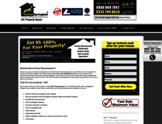 uk-property-buyer.co.uk screenshot