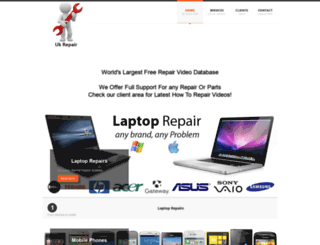 uk-repair.com screenshot