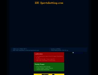 uk-sportsbetting.com screenshot