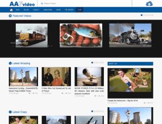 uk.aafvideo.com screenshot