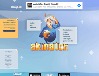 uk.akinator.com screenshot