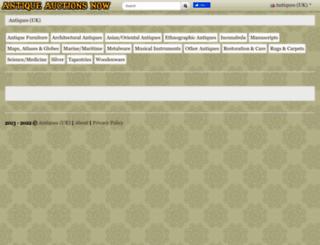 uk.antiqueauctionsnow.net screenshot