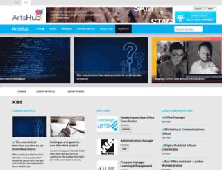 uk.artshub.com screenshot